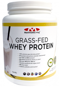 Maximized Living Grass-Fed Whey Protein
