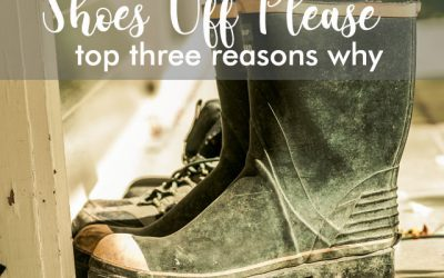 Top 3 Reasons Why Taking Your Shoes off at the Door is a Must