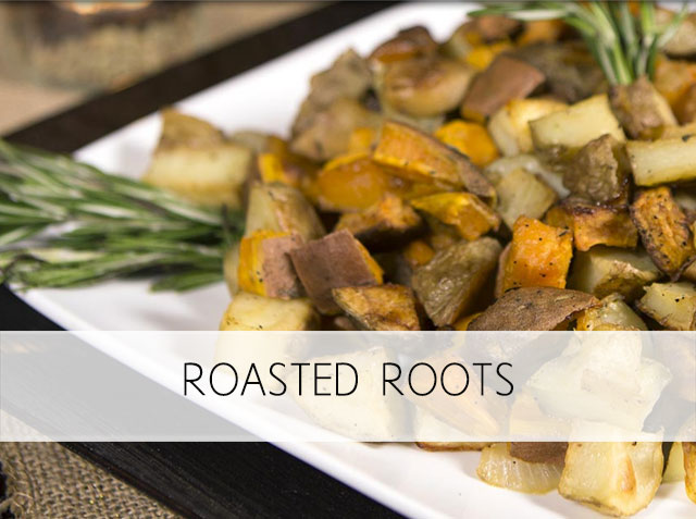 Roasted Roots – Healthy Thanksgiving Table
