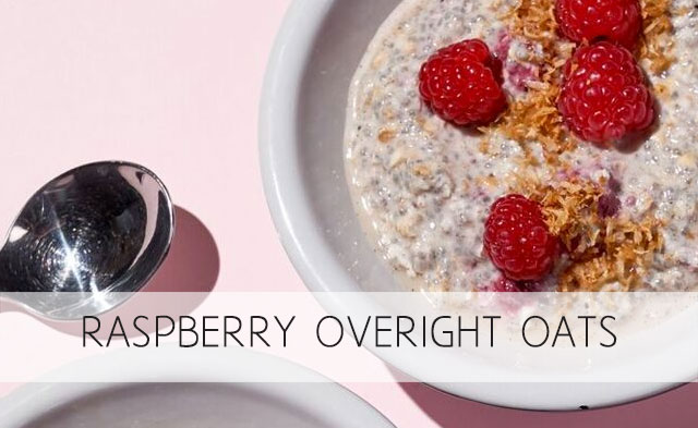 Raspberry Overnight Oats