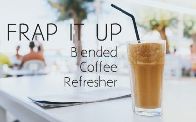 Frap it Up: Iced Coffee Refresher