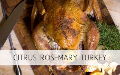 Citrus Rosemary Turkey – Healthiest Option
