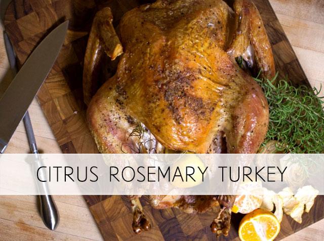 Citrus Rosemary Turkey – Healthiest Option
