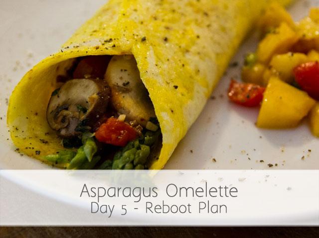 Asparagus Omelette (RA) Day 5