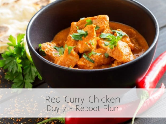 Red Curry Chicken (RA) Day 7