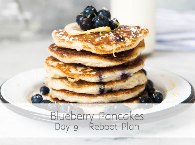 Blueberry Pancakes (RA) Day 9