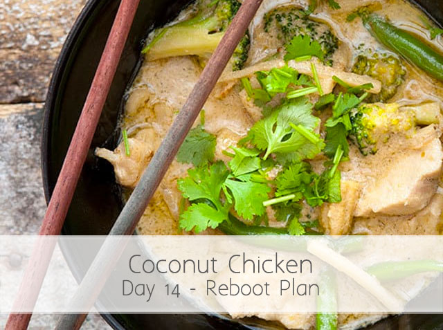 Asian Coconut Chicken (RA) Day 14