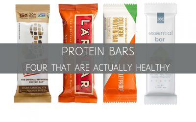 Protein Bars: The Four Types that are Actually Healthy