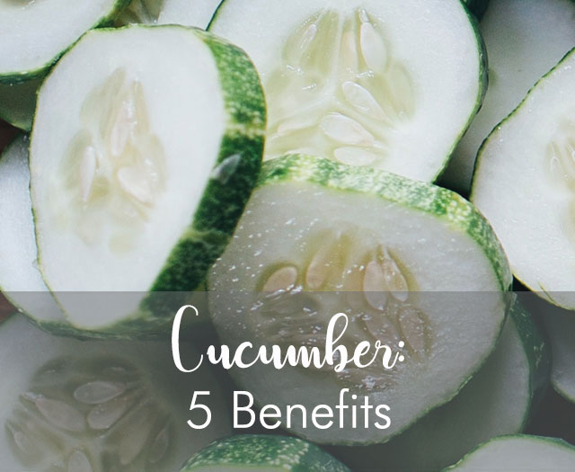 Cucumber Benefits: Top Five Nutritional Benefits and Their Versatility